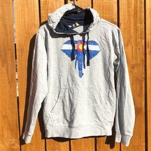 Tops - Colorado Threads lightweight hoodie